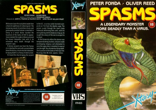 Spasms   spasms vhs cover 04 500x353 reviews horror