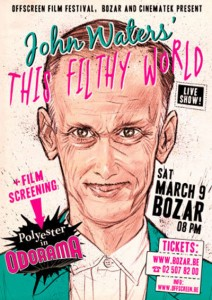 Offscreen 2013   John Waters webposter 2013 212x300 news