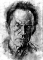 Facts and Fiction in the Life of Mr. Henriksen   Lance henriksen painted 87x120 video