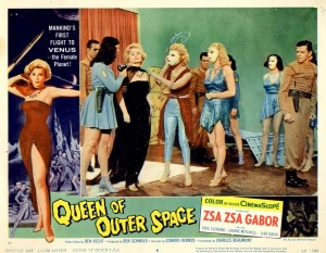 Queen Of Outer Space   QoOS lobby card 01 300x233 sci fi reviews fantasy