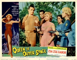 Queen Of Outer Space   QoOS lobby card 02 300x233 sci fi reviews fantasy
