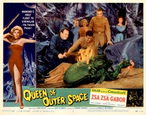Queen Of Outer Space   QoOS lobby card 04 300x236 sci fi reviews fantasy