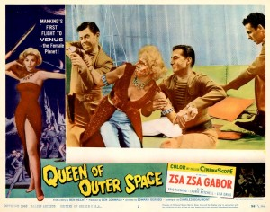 Queen Of Outer Space   QoOS lobby card 05 300x236 sci fi reviews fantasy