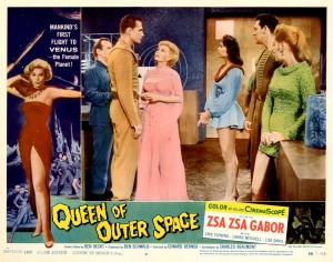 Queen Of Outer Space   QoOS lobby card 06 300x236 sci fi reviews fantasy