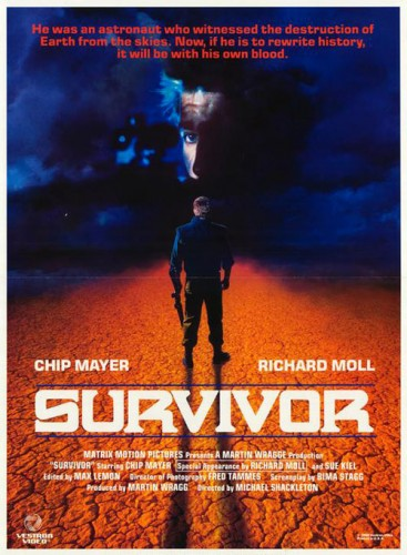 Survivor   survivor movie poster 1987 367x500 sci fi reviews drama action