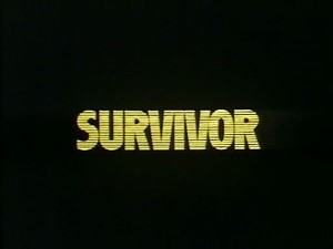 Survivor   survivor title screen 300x225 sci fi reviews drama action