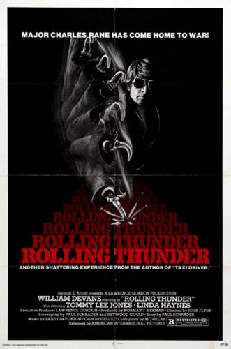 Rolling Thunder   RT poster 02 331x500 thriller reviews reviews drama action