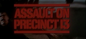 Assault On Precinct 13   AoP13 title screen 300x135 thriller reviews reviews action