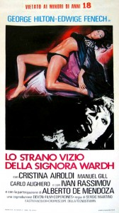 The Strange Vice Of Mrs Wardh   Mrs W poster 01 168x300 thriller reviews horror