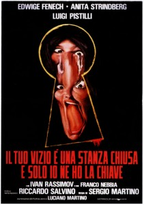 Your Vice Is A Locked Room And Only I have The Key   Your Vice italian poster 211x300 thriller reviews reviews horror