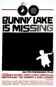 Bunny Lake Is Missing   Bunny Lake poster 01 196x300 thriller reviews reviews drama