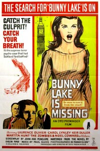 Bunny Lake Is Missing   Bunny Lake poster 05 199x300 thriller reviews reviews drama