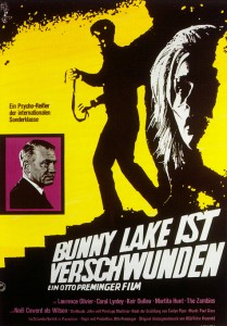 Bunny Lake Is Missing   Bunny Lake poster 06 209x300 thriller reviews reviews drama