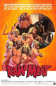 Offscreen 2014   Raw Meat 1973 poster 195x300