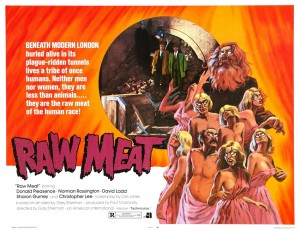 Raw Meat   Raw Meat 1973 wide poster 300x231 reviews horror