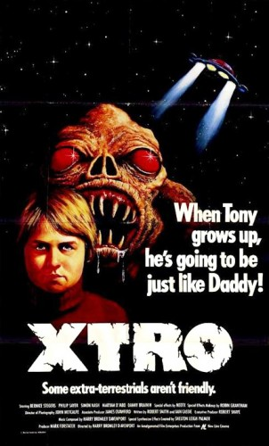 Xtro   Xtro poster 302x500 sci fi reviews horror
