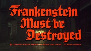 Frankenstein Must Be Destroyed   Franky Destroyed title screen 300x168 reviews horror
