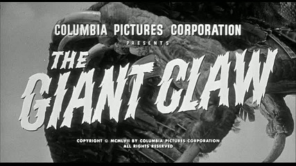 The Giant Claw   The Giant Claw title sci fi reviews horror