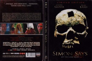 Simon Says   Simon Says dvd steelbook sleeve 300x200 reviews horror