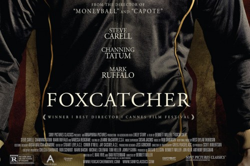 Foxcatcher free tickets   Foxcatcher poster sheet CR 500x333 news