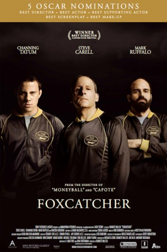 Foxcatcher free tickets   Foxcatcher poster CR 332x500 news