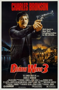 Death Wish 3   Death Wish 3 poster CR 197x300 thriller reviews reviews drama action