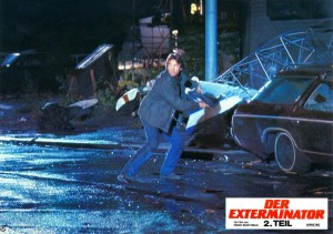 Exterminator 2   Exterminator 2 lobby card 03 300x211 thriller reviews reviews drama action