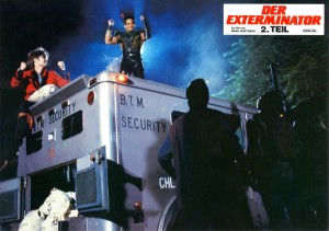 Exterminator 2   Exterminator 2 lobby card 04 300x211 thriller reviews reviews drama action