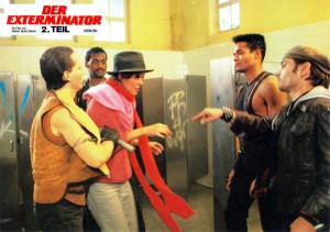 Exterminator 2   Exterminator 2 lobby card 05 300x211 thriller reviews reviews drama action