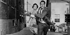 Invasion of the Body Snatchers (1956)   Invasion of the Body Snatchers 1956 run 300x150 sci fi reviews horror drama