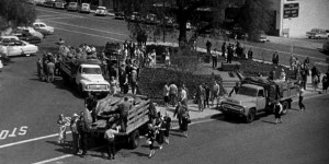 Invasion of the Body Snatchers (1956)   Invasion of the Body Snatchers 1956 trucks 300x150 sci fi reviews horror drama
