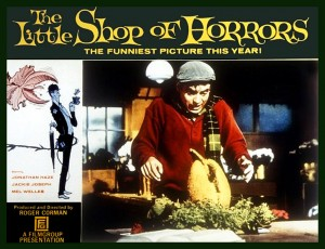 Dr. AC watches 5 Offscreen 2015 flicks     The Little Shop Of Horrors 1960 still card 02 300x230 thriller reviews sci fi reviews musical horror drama comedy action
