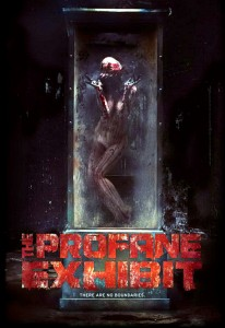 The Profane Exhibit   The Profane Exhibit poster 01 206x300 reviews horror