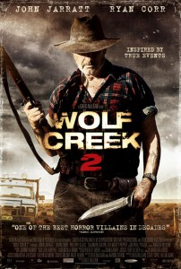 Wolf Creek 2   Wolf Creek 2 poster 01 CR 202x300 reviews horror