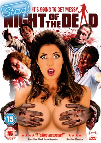 Stag Night of the Dead   stagnightofthedead poster 355x500 reviews horror comedy