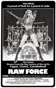 Raw Force   Raw Force Poster 3 CR 192x300 reviews horror action